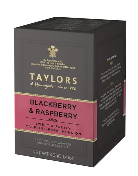 Taylors - herbata ziołowo-owocowa z jeżyną i maliną